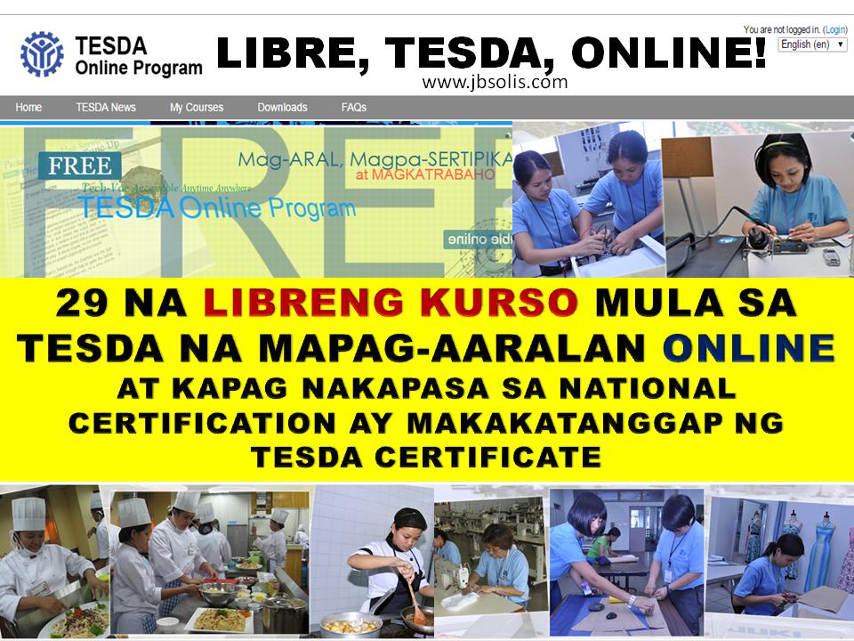 News At GMA7 Regarding Online TESDA Program