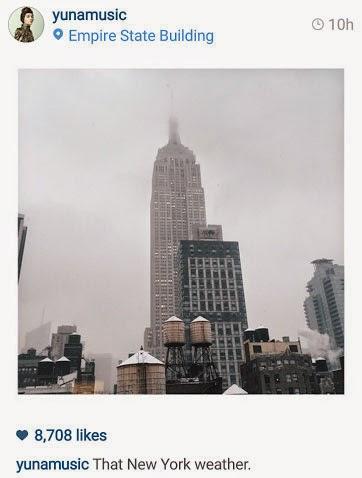 Projek KJ Bersama Yuna, Aizat dan Mizz Nina di New York?, info, terkini, hiburan, sensasi, yuna, aizat,