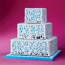 Romantic Wedding Cake Fancy Beach
