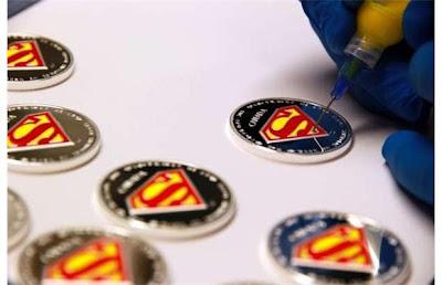 Koleksi Syiling Warna Superman dikeluarkan Kanada
