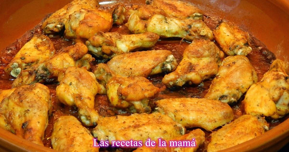 Las recetas de la mam receta f cil y r pida de alitas de pollo adobadas al horno - Superchef cf100 ...