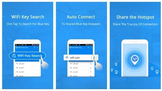 تطبيق مجاني للبحث عن جميع نقاط الواي فاي المجانية في أي مكان بالعالم WiFi Master Key 2.0.13 APK