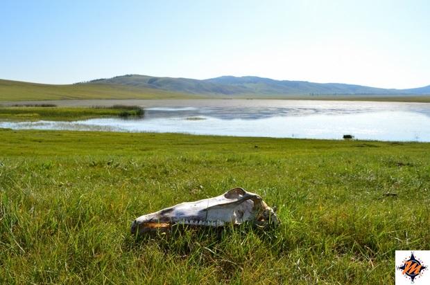 Lago nei pressi delle sorgenti termali di Tsenkher