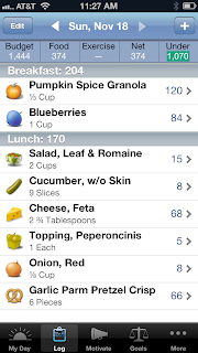 the Loseit apps