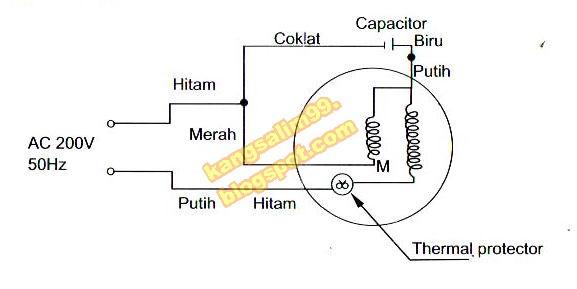 Diagram Rangkaian Pompa Air