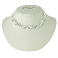 Colier placat cu argint si decorat cu cristale Swarovski™