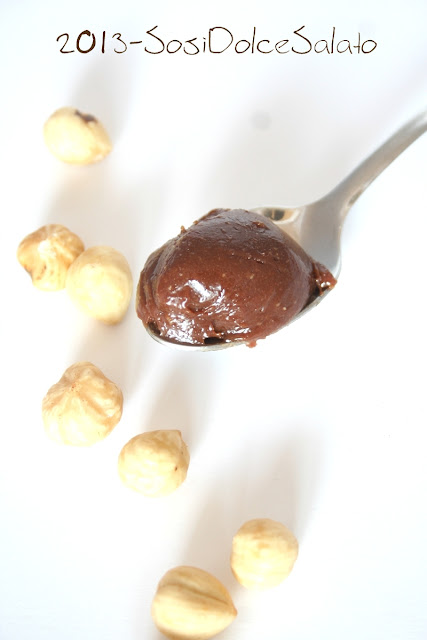 ricetta nutella homemade o meglio crema di nocciole
