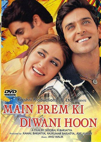 Main Prem Ki Diwani Hoon  Telugu Mp3 Songs Free  Download  2003
