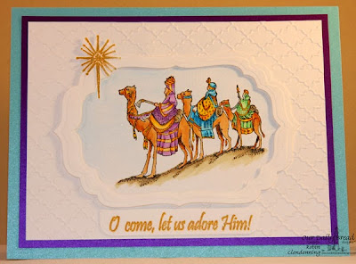 Our Daily Bread Designs, We Three Kings stamp set