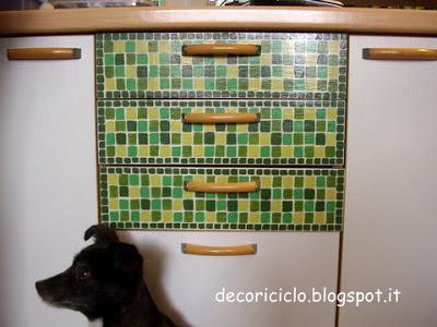 decoriciclo: Come ho rinnovato le antine della mia cucina