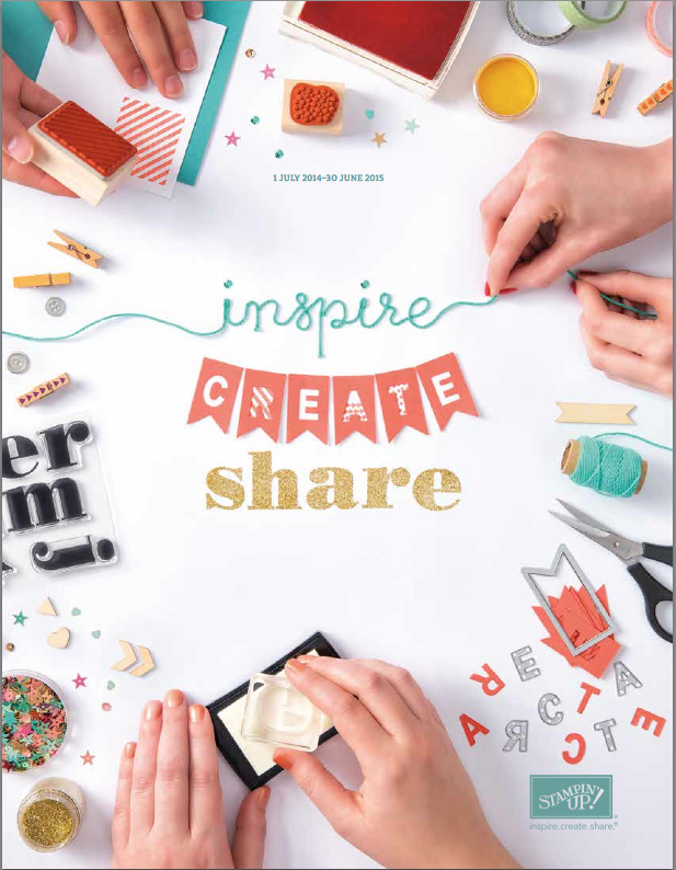 Stampin' Up! 2014-2015 Annual Catalogue