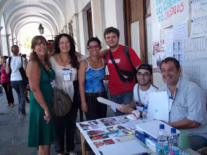 Naddeo en el Congreso de Madres Solidaridad con los estudiantes chilenos