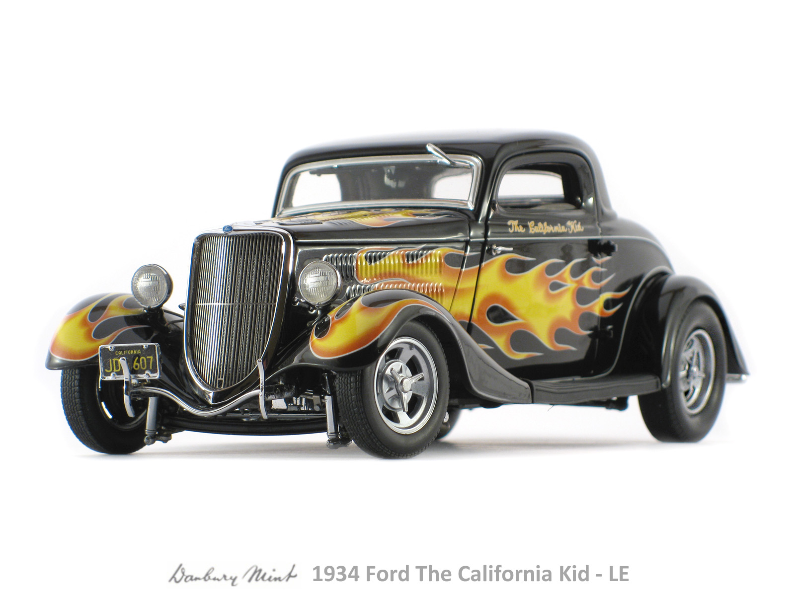 Danbury mint 1934 ford the california kid limited edition