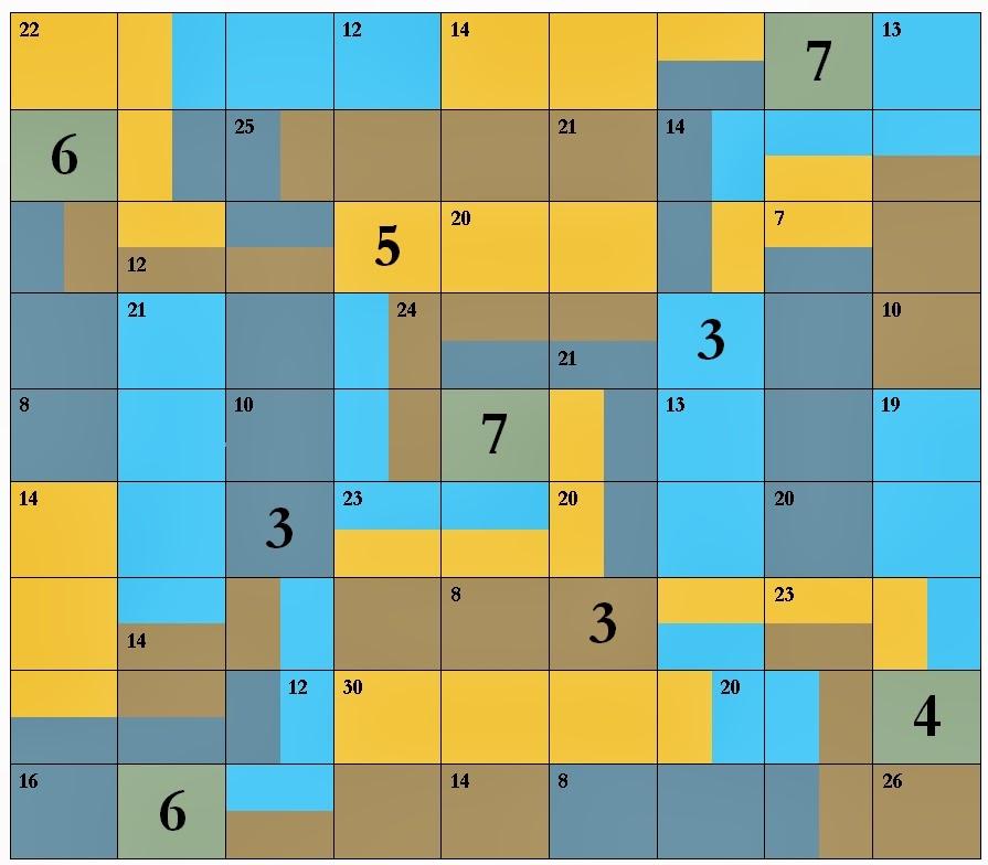 Sum Puzzle 1
