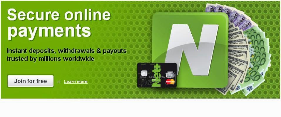 Cara Daftar Bank Online Neteller