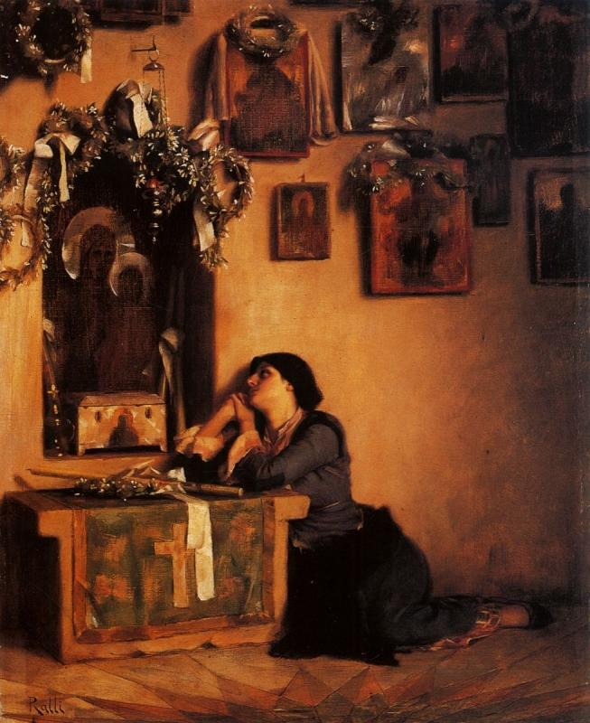 La súplica (Théodore Jacques Ralli)