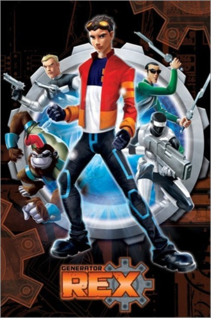 Generator Rex Cartoon Network Oyunu