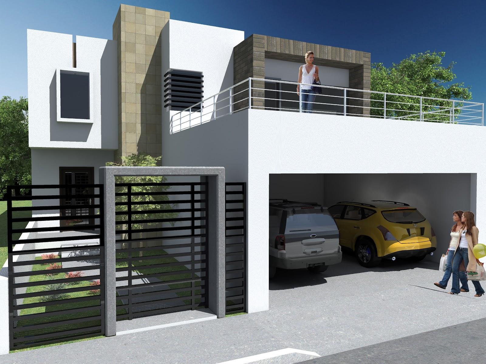 Proyecto lambda render casa habitaci n for Diseno de casa habitacion