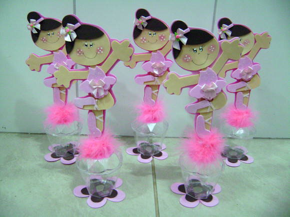 Centros de mesa de bailarinas de ballet - Imagui