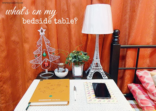 bedside table starbucks planner 2014 notebook cherry mobile cosmos x christmas tree decoration eiffel tower lamp silver candle light parken pen