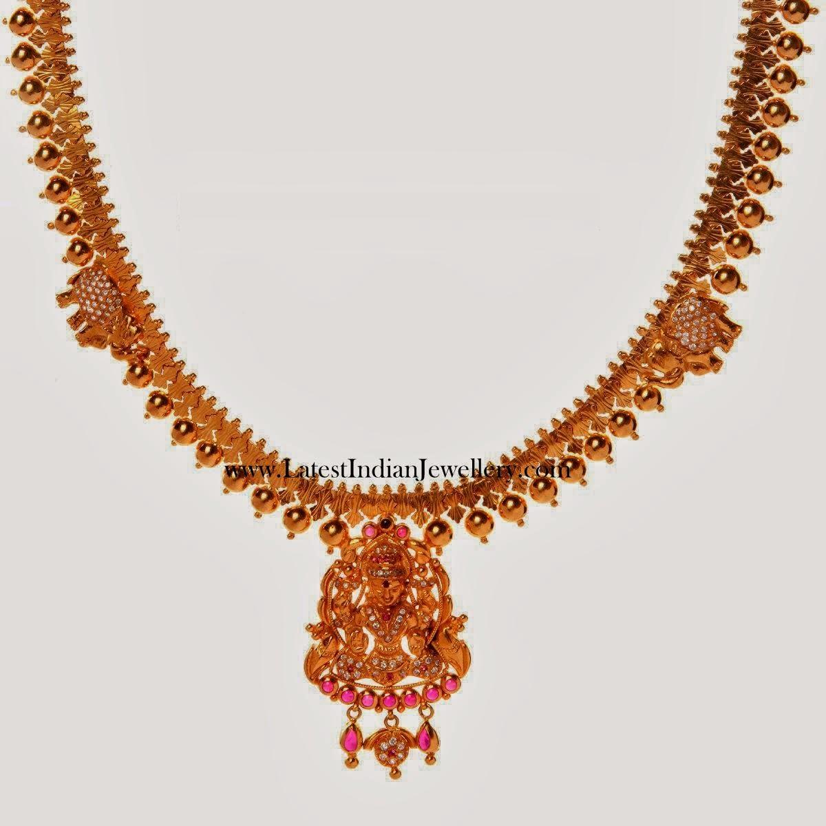 Simple Design Temple Jewellery