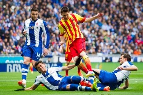 Video Culikan Gol Espanyol VS Barcelona 0-1 29 Maret 2014