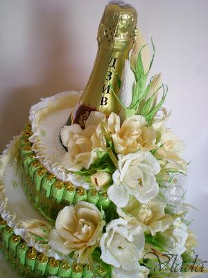 Фото торта и шампанского своими руками 4