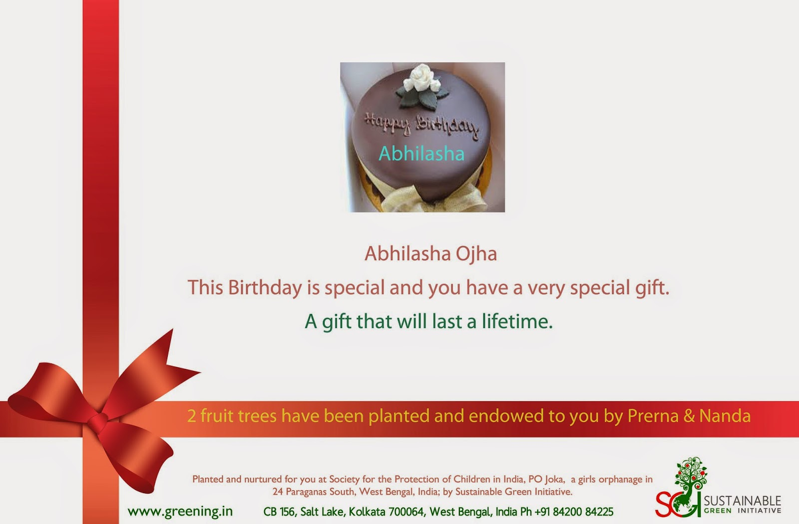 Special birthday gifts for women, plant and gift trees, they last a lifetime