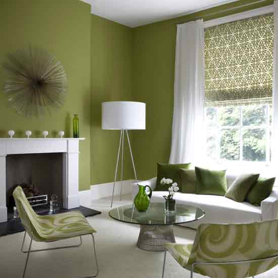 Modern Home Designs: Green Interior Designs For Modern And