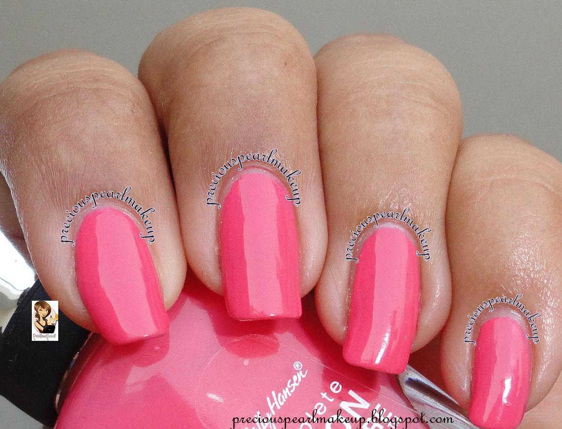 preciouspearlmakeup: Sally Hansen Complete Salon Manicure Shrimply ...