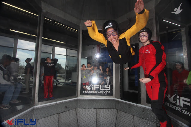 Indoor Skydiving iFly SF Union City