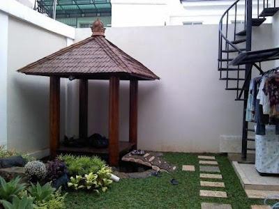 Tukang Taman Kalimantan Desain Gazebo / Saung