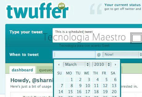 La mejor manera de programar twits en Twitter