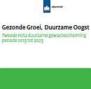 Cover Gezonde groei, duurzame oogst: tweede nota duurzame gewasbescherming periode 2013 tot 2023