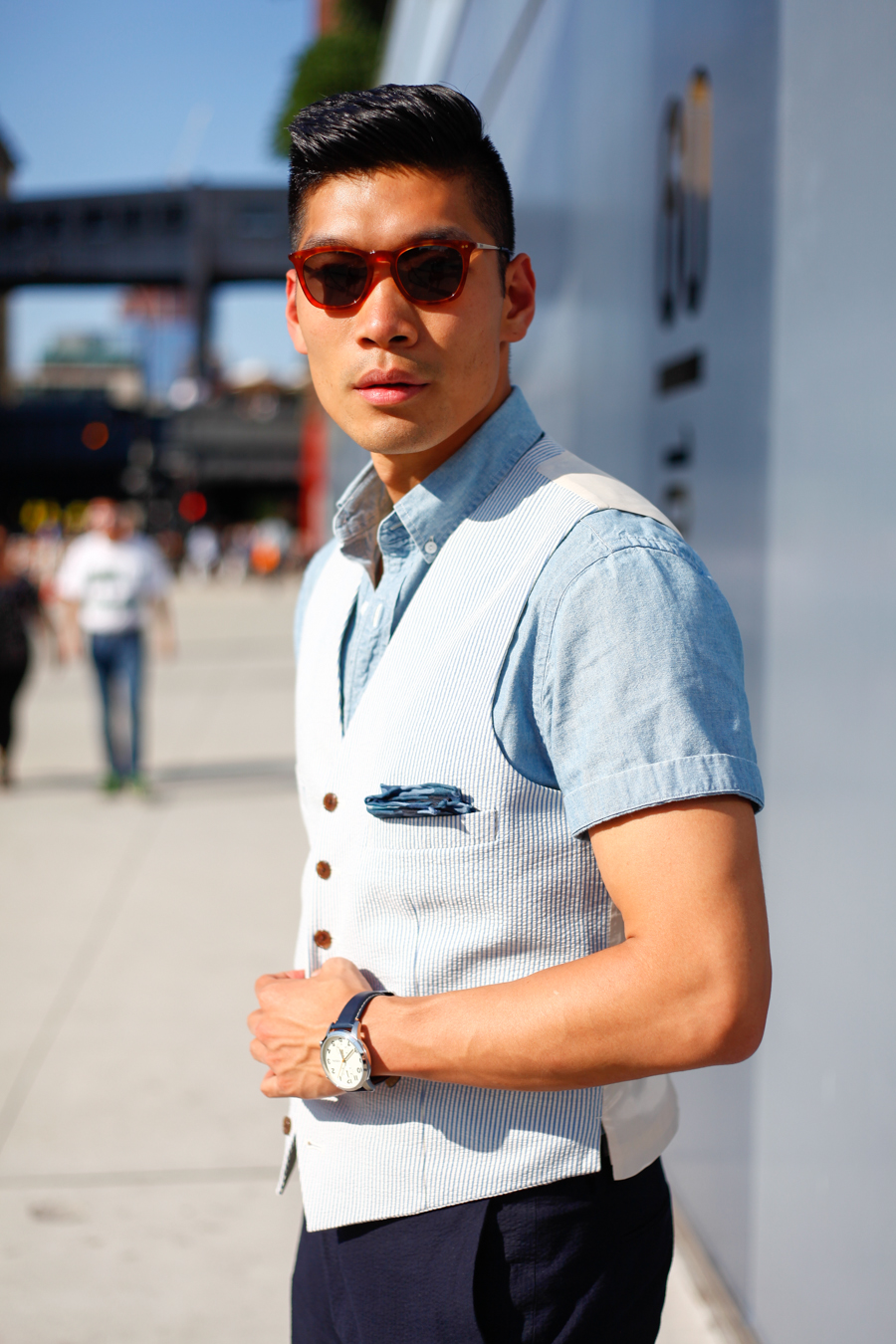 TOMS x Levitate Style NYFWM | Summer Style feat. TOMS sunglasses & Brogues