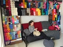 Image result for milk crate yarn storage
