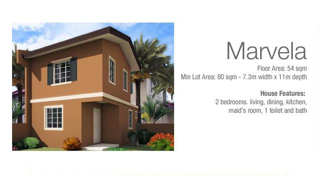 Marvela Two Storey House in Camella Carcar Cebu