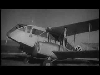 Royal Flying Doctor Service of  Australia aircraft landing in 1948