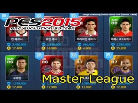 Daftar Pertanyaan Seputar Master League PES 2015