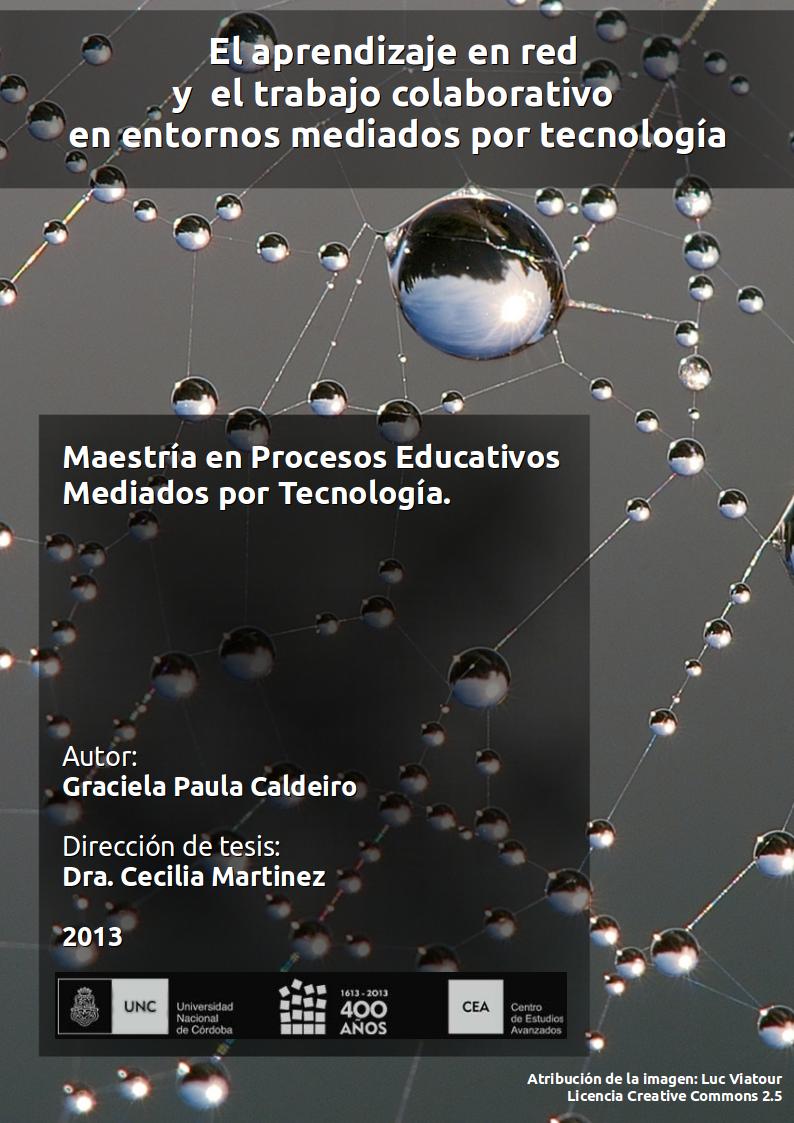 El aprendizaje en red y el trabajo colaborativo en entornos mediados por tecnología