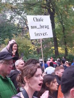 NYC Marathon sign