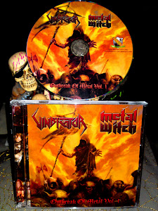 VINDICATOR/METAL WITCH-split cd