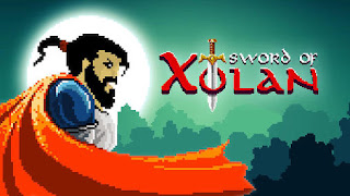 Screenshots of the Sword of Xolan for Android tablet, phone.