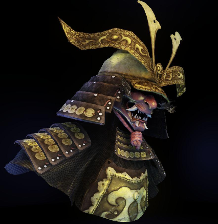Stephanie Angel Samurai Character Bust