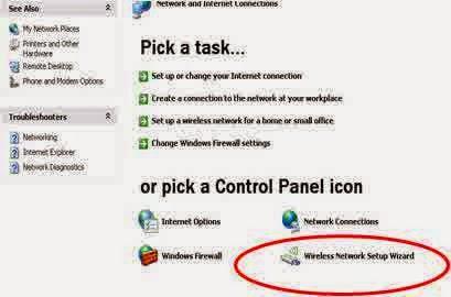 Cara Mengaktifkan Koneksi WiFi pada Windows XP