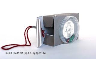 DIY Foto Gutschein Verpackung mit leeren Dosen von Stampin Up