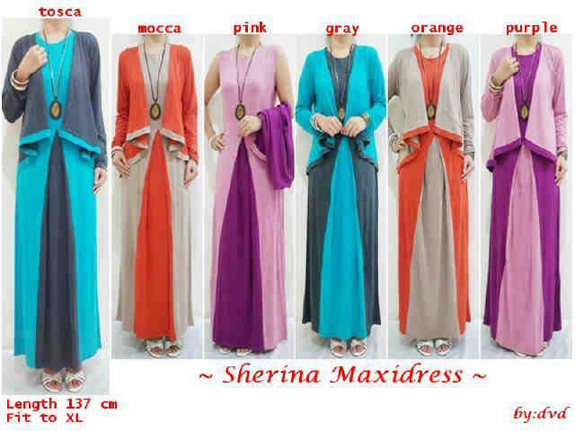Trend Model Baju Muslim Gamis