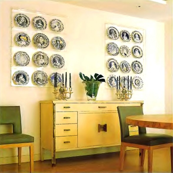 Wall Decor Ideas Blog : To da loos part of decorating with dishes the ideas file