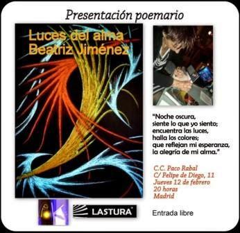 Beatriz Jimenez vuelve a Vallecas en sus bellos Versos