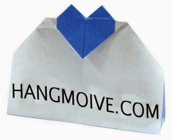 Cách gấp, xếp cái túi trái tim bằng giấy origami - Video hướng dẫn xếp hình trái tim quà tặng - How to fold a heart bag